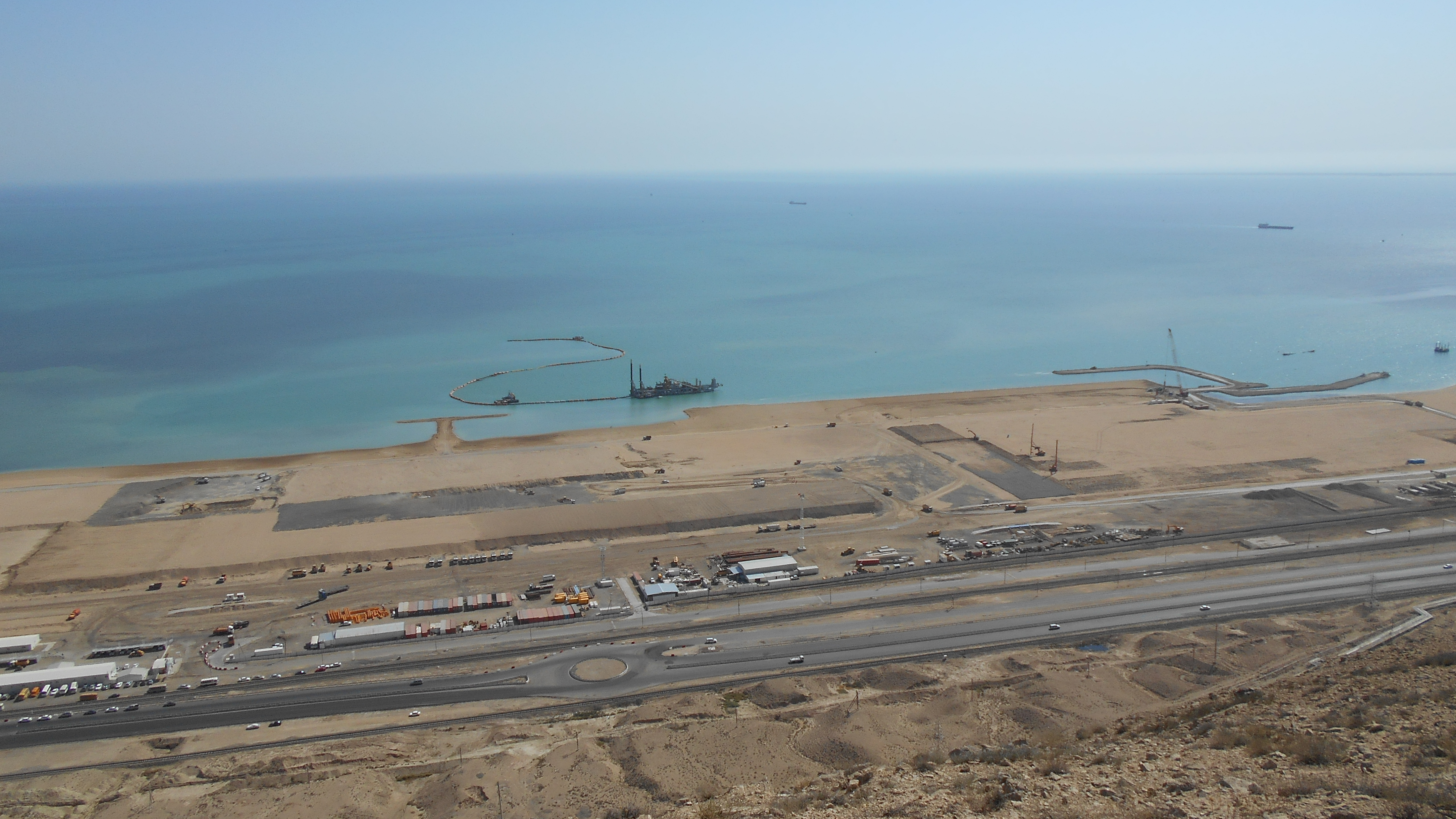 Ground improvement for the new International Port of Turkmenbashi