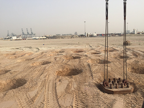 Kuwait New Cities - Dynamic Compaction and Dynamic Replacement