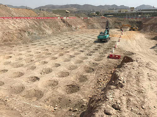 Compaction Grouting - Dynamic compaction