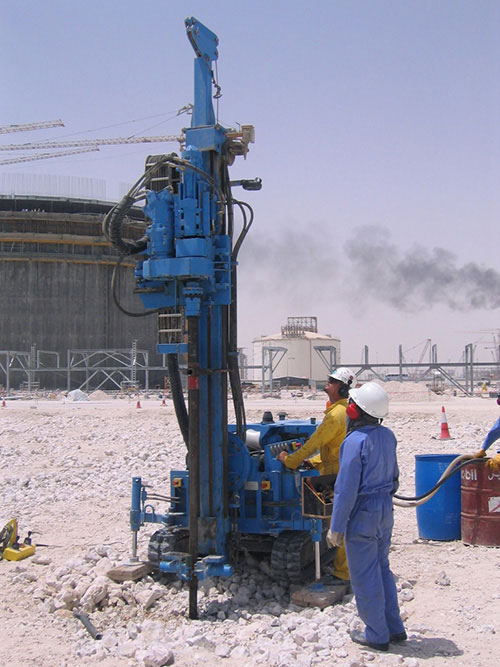 Ras Gas LNG Tanks - Dynamic Replacement - Foundation Solution