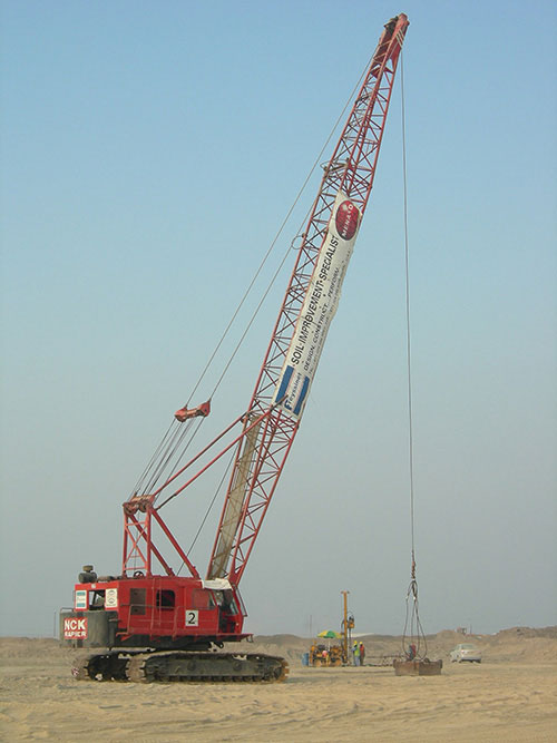 Sohar Vale Project - Dynamic Compaction